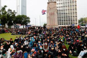 Polícia prende organizador de protesto em Hong Kong